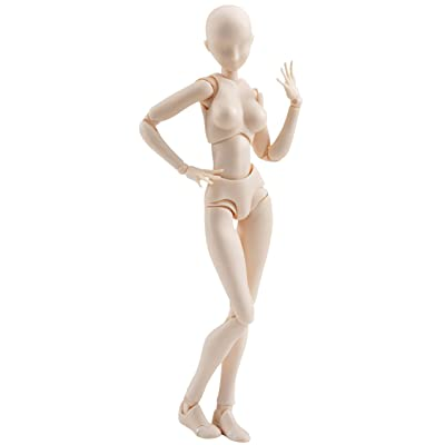 Bandai Figurine S.H.Figuarts - Body Chan (Female) Pale Orange Color Version - 4549660040873: Toys & Games
