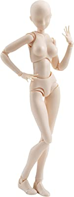 Editor's pick — Flexible Female Artist Mannequin Figure Body-chan Original by Bandai