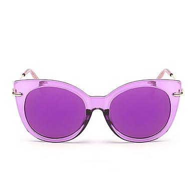 Amazon.com: Gafas de sol para mujer con revestimiento retro ...