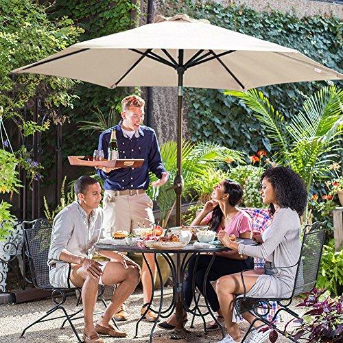 The 8 best garden tables with umbrellas