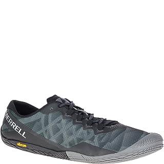 Merrell Men's Vapor Glove 3 Sneaker, Black/Silver, 14 M US