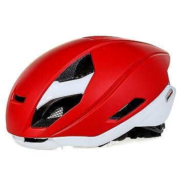 Casco de bicicleta, KING BIKE, aerodinámico, para adultos, con protector de lluvia