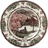JOHNSON BROS. FRIENDLY VILLAGE Collector plate 2013