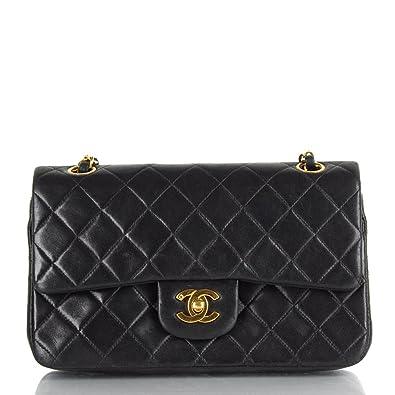816fd98383c2 Chanel Women's Black Vintage Matelassé Chain Shoulder Bag Black ...