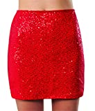 Rubies Costume Co Womens Wizard Of Oz Dorothy Costume Sequin Mini Skirt