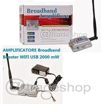 Trade Shop traesio Amplificador Broadband Booster WiFi USB ...