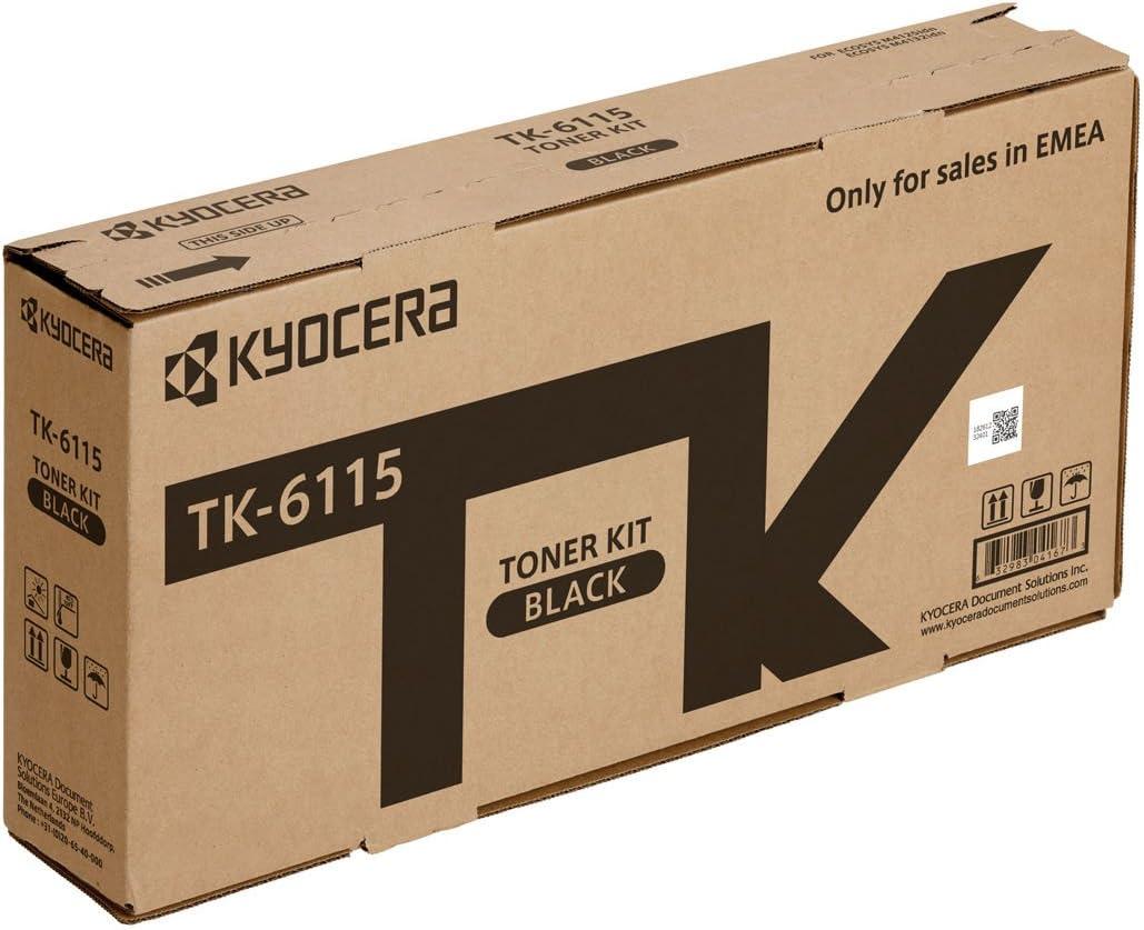 Kyocera Tk 6115 Schwarz Original Toner Kartusche 1t02tvbnl0 Kompatibel Für M4125idn M4125idn Kl3 M4132idn Und M4132idn Kl3 Bürobedarf Schreibwaren