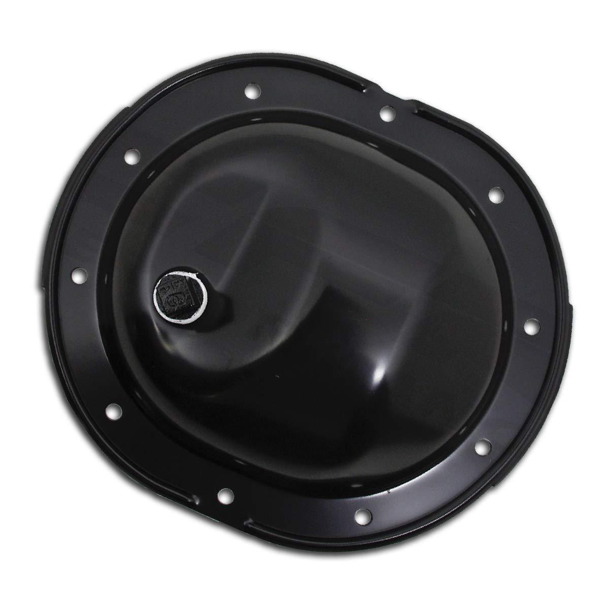 For 61-89 Chrysler Mopar Black Rear Differential Cover 10 Bolt W//Ring Gear