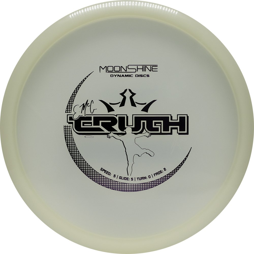 Dynamic Discs Moonshine Lucid Glow EMAC Truth Midrange Golf Disc [Colors May Vary] - 160-169g