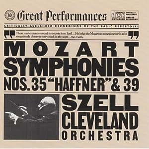 Mozart: Symphonies Nos. 35 & 39 (CBS Records Great Performances)