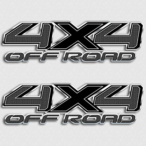 - Tundra Carbon Fiber 4x4 Truck Decal Set Off Road Stickers