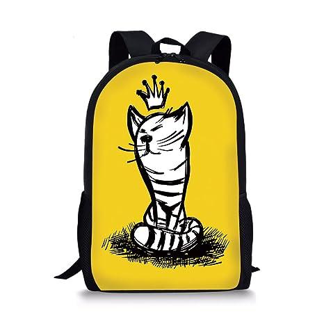 Amazon.com  iPrint School Bags Sketchy 9efac105338c5