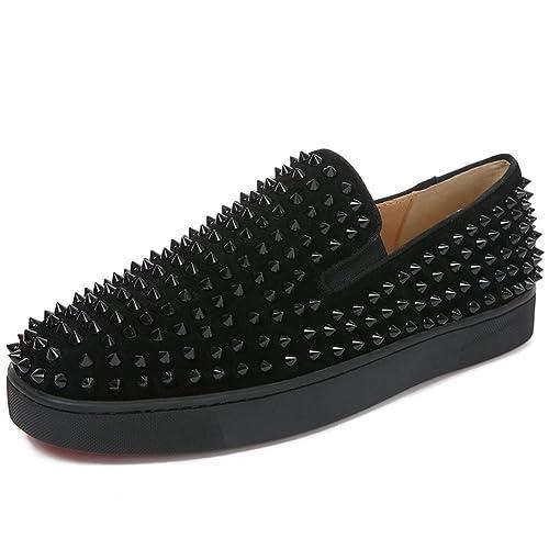 7f56cf2da59 F.N.JACK Roller-Boat Flat Shoes Flat Shoes Loafer Patent Slip-on ...