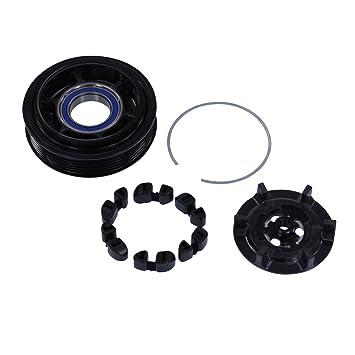 1x Polea para compresor de aire acondicionado -BENZ CLASE C W203 C 180,C 200 CDI,C 220 ...