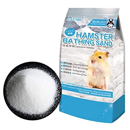 Com Hamster Bathing Sand Gerbil Powder Grooming For Tiny Friends Farm Chinchilla Dust Bath Potty Litter 2lb Pet