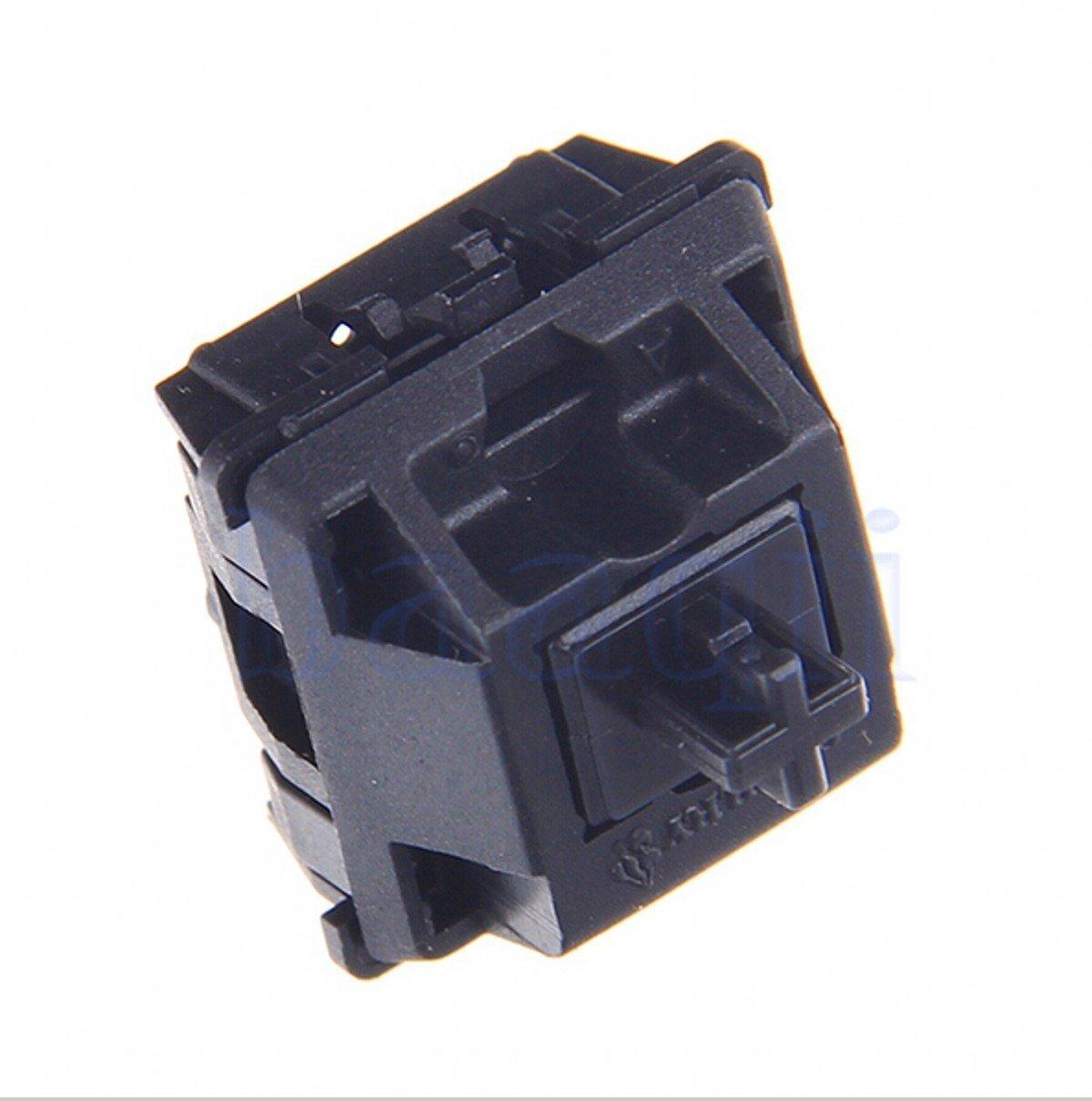 CHENGYIDA 10PCS CHERRY MX Series Keyswitches Black(Cyan) - Keyboards Switches GENUINE Replacement-ORIGINAL KEYBOARD SWITCH Ltd.