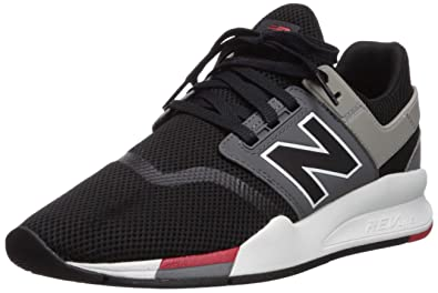 235827ae3c new balance Men's 247 Black Sneakers-7 UK/India (40.5 EU)(7.5 US ...