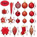 AMS-72ct-Christmas-Ball-Assorted-Pendant-Shatterproof-Ball-Ornament-Set-Seasonal-Decorations-with-Reusable-Hand-Help-Gift-Boxes-Ideal-for-Xmas-Holiday-and-Party