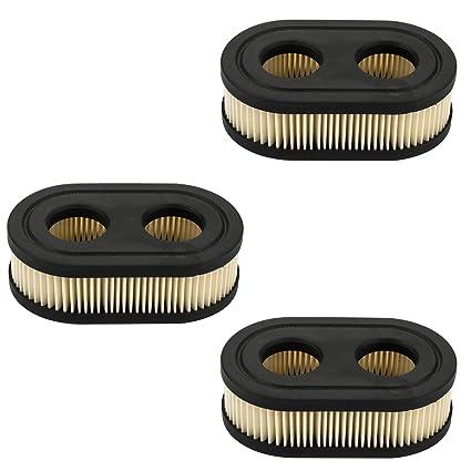 2PCS Air Filter For 550E-550EX Briggs /& Stratton 798452 593260 Lawn Mower