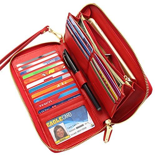 Blocking Wallet Genuine Leather Around