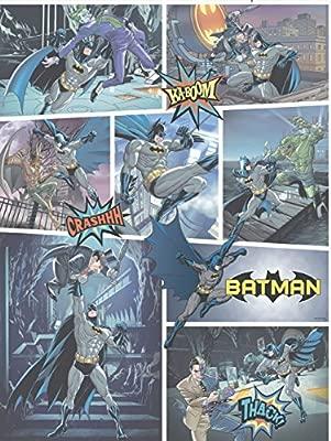 Amazon Co Jp Galerie公式バットマンコミックストリップパターンdc