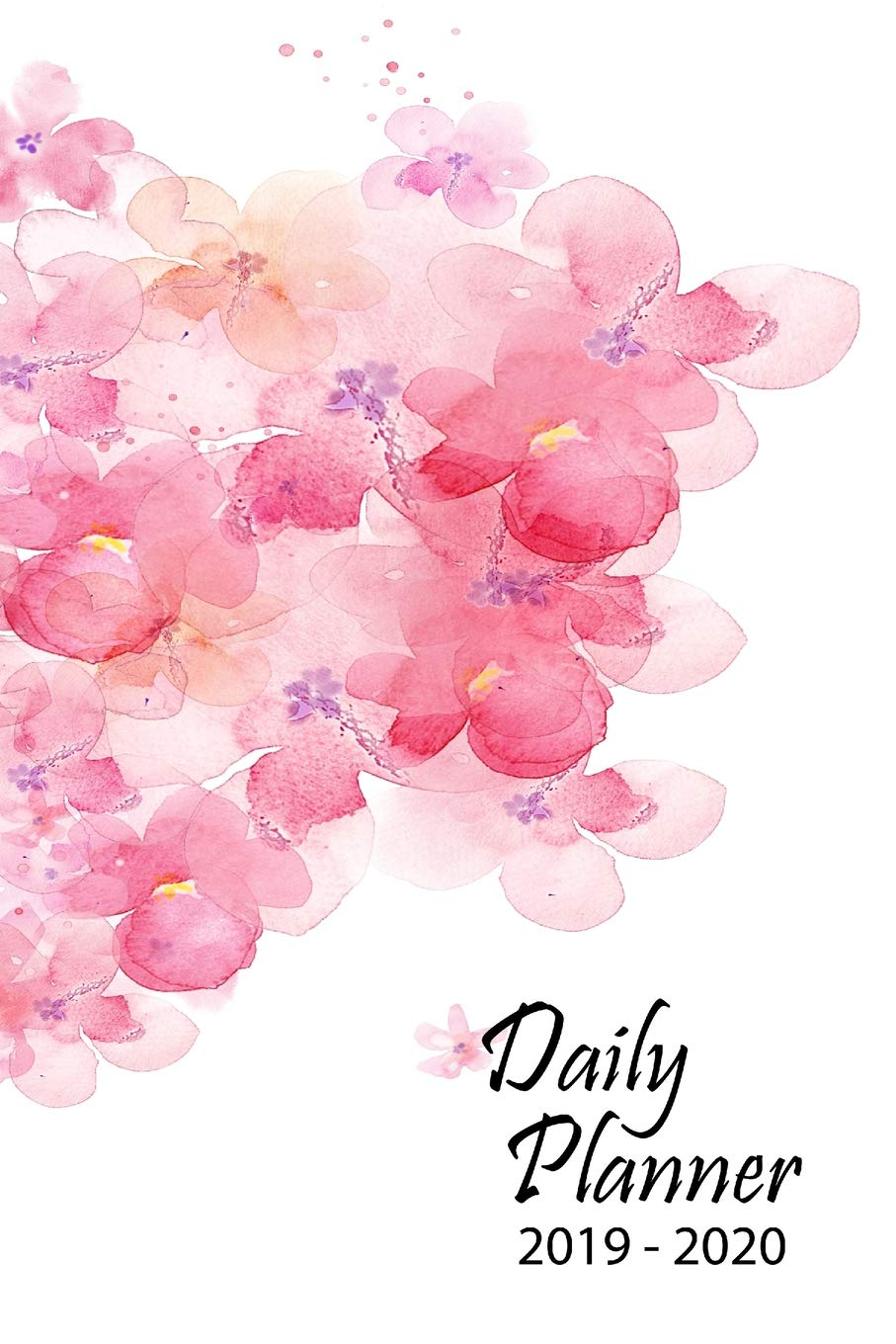 2019-2020 Daily Planner: 17 Month Daily Planner - August ...
