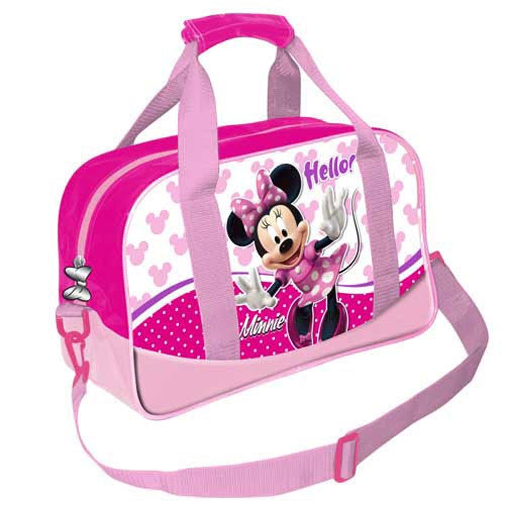 *Exclusiv* Minnie Mouse Reisetasche Tragetasche Schultertasche 40x28x20cm EDEL