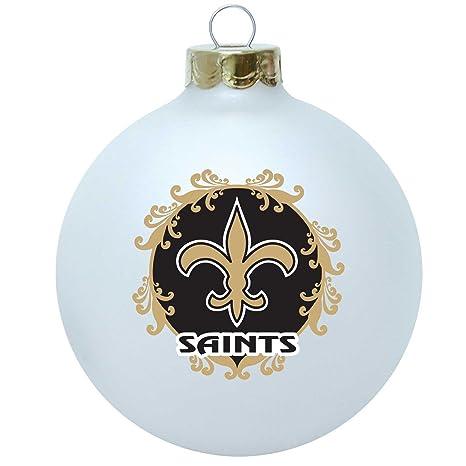 New Orleans Saints Christmas Ornaments.Nfl New Orleans Saints Large Collectible Ornament