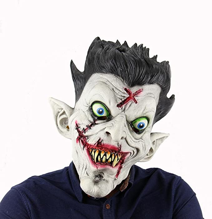 kinghard Old Hag nieve Horror Bruja Disfraz de Halloween máscara ...