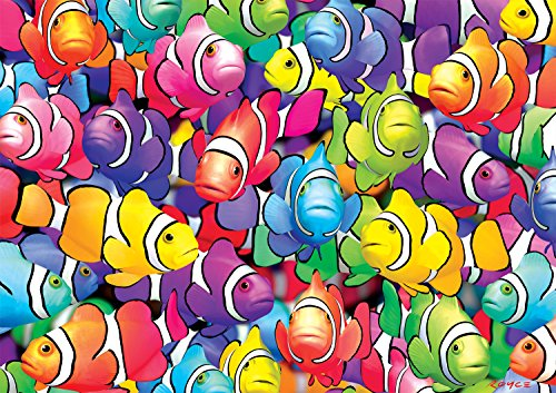 Buffalo Games - Vivid Collection - Clown School - 300 Large Piece Jigsaw Puzzle
