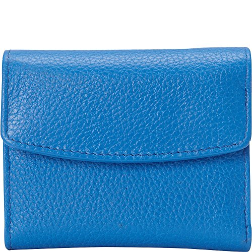 Buxton Hudson Pik-Me-Up Mini-Trifold (Strong Blue)