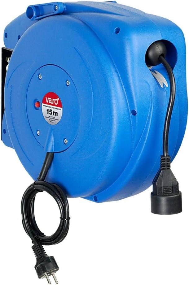 Varo PRT AR/EC15SC - Enrollador automático de cable (15 m): Amazon ...