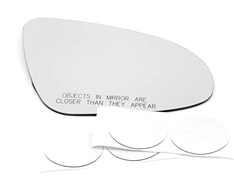 """Fits 12-18 Prius /""""C/"""" Right Passenger Mirror Glass Lens Only w// Adhesive"""