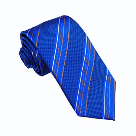 LG GL Corbata de Lazo Azul clásico de los Hombres Lazo de Vestir ...