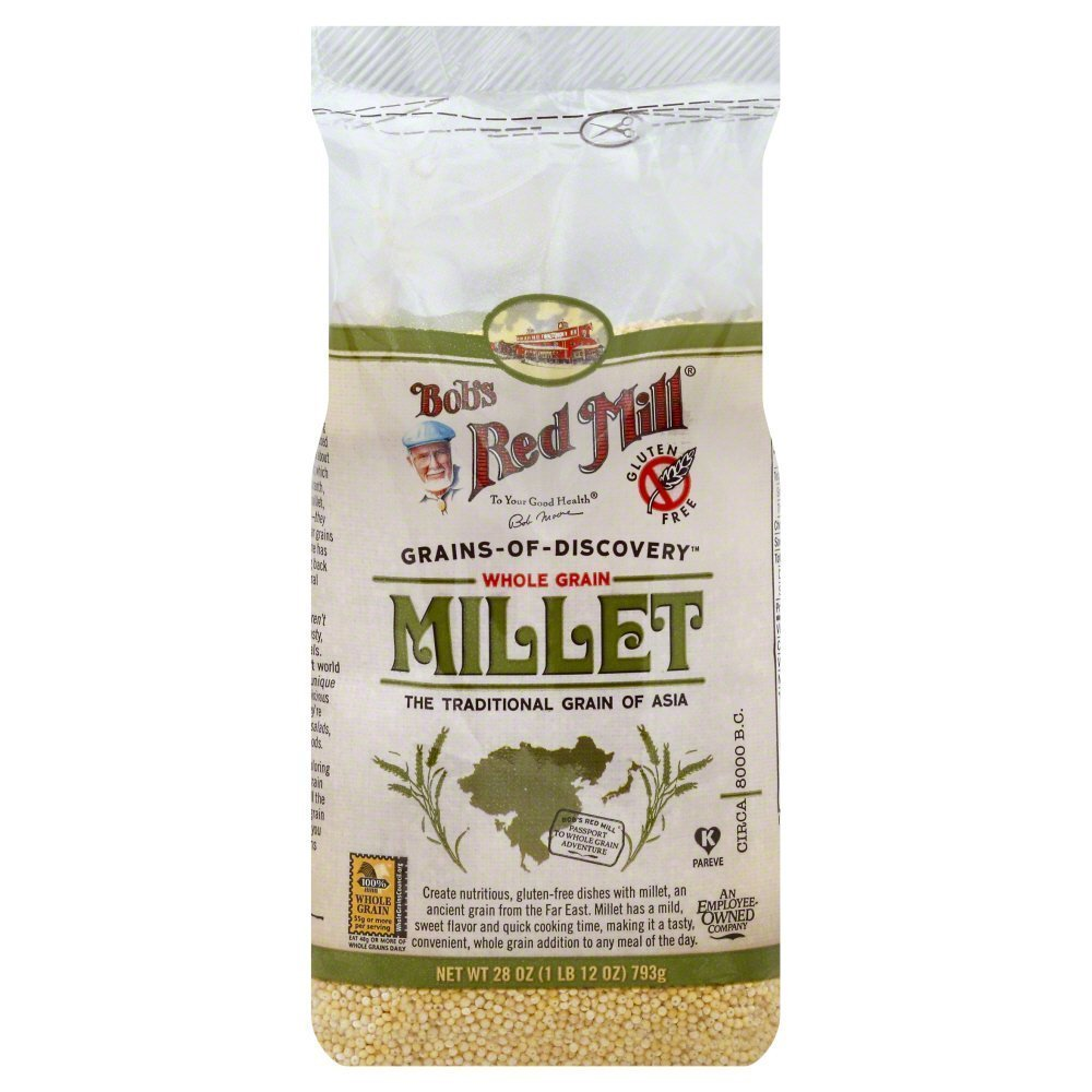Bobs Red Mill Hulled Millet 28.0 OZ(Pack of 3)