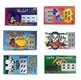 : Fake Lottery Tickets-set of 100-Great gag gift from TheGag 6 Designs That Look Real