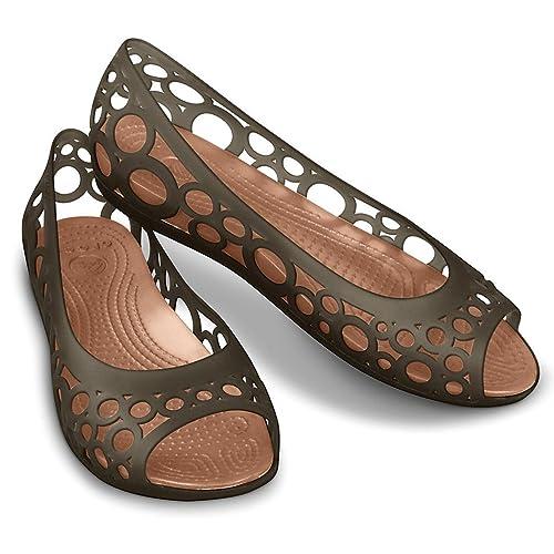 05fd3ee137489b Crocs - Crocs Women s Adrina Flat - Espresso Bronze - Espresso Brown -  Women s 6