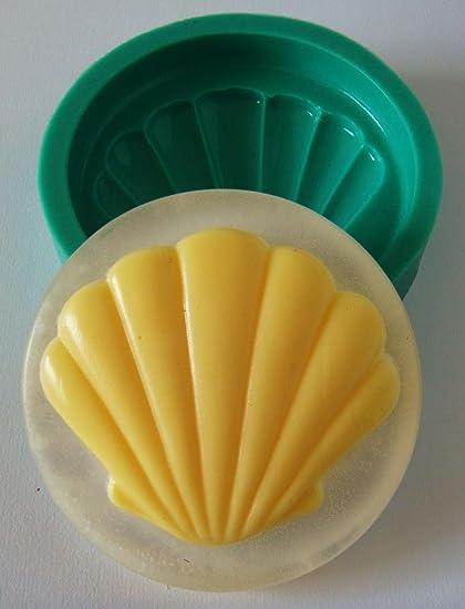 kbksiliconemoulds jabón moldes de caucho de silicona Moldes Resina Artesanía Shell