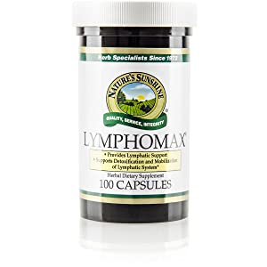 Nature's Sunshine Lymphomax, 100 Capsules | Immune System Booster with Time-Honored Herbals to Naturally Support the Respiratory and Urinary Systems