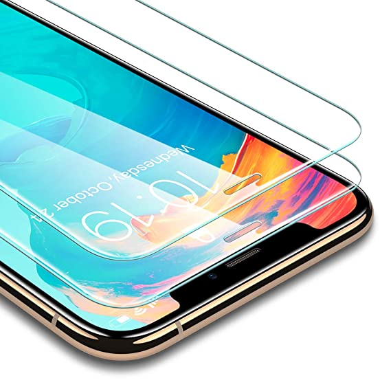 100% authentic f7a42 3677b ESR [2-Pack] Screen Protector Compatible for iPhone Xs Max, [Force  Resistant Up to 22 Pounds] Premium Tempered Glass Screen Protector for The  iPhone ...