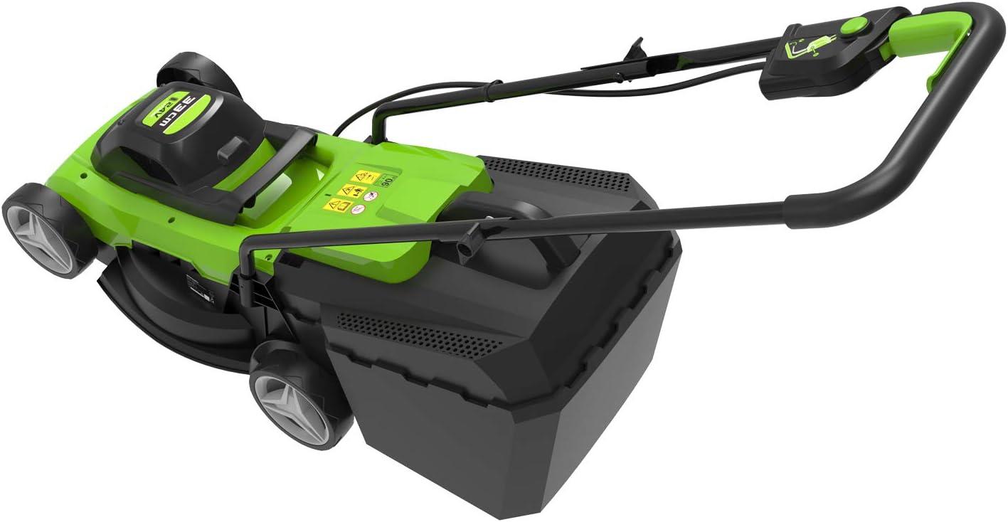 24 V Greenworks Tools G24LM33 Cortac/éspedes rotativos 33cm