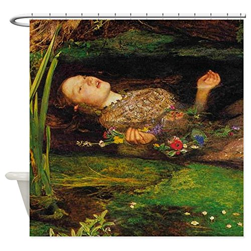 CafePress Ophelia By Millais Decorative Fabric Shower Curtain (69