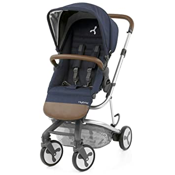 Simply Navy Three Wheelers Pushchairs & Prams BabyStyle Hybrid City Stroller