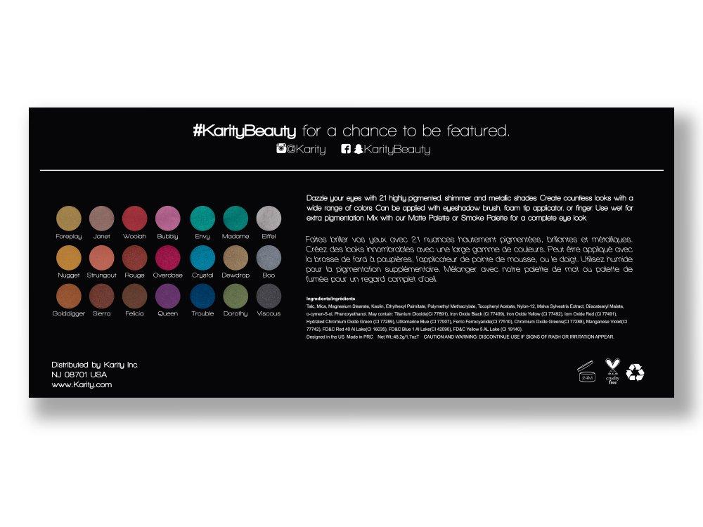 Eyeshadow Palette by Karity #21