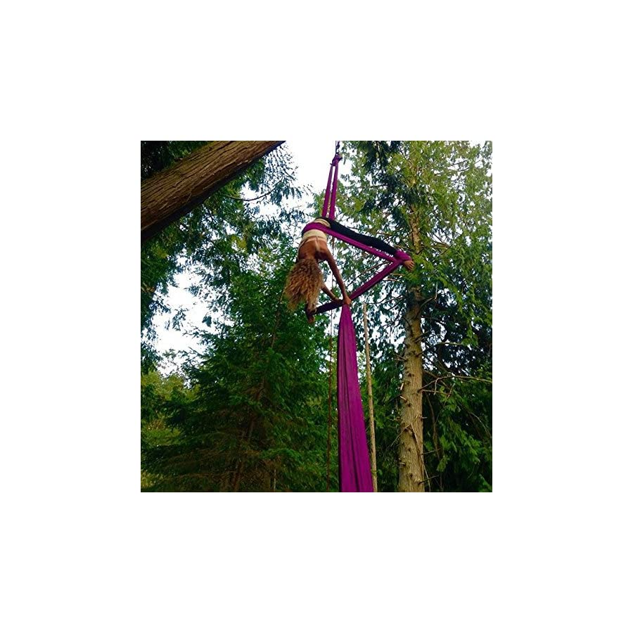 Dasking Premium Aerial Silks Equipment Safe Deluxe Aerial Kit