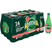 24-Pack Perrier Watermelon Flavored Carbonated Mineral Water