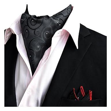 3d98841f2705 YCHENG Hommes Coton Echarpe En Soie Cravate Foulard Col De Foulard,  Multicolore10, Taille unique  Amazon.fr  Vêtements et accessoires