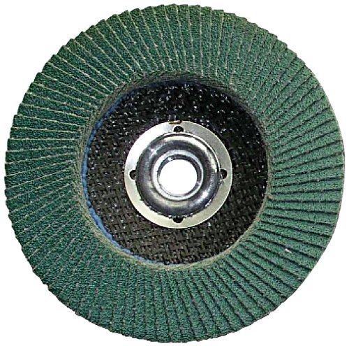 Grit-36 Shark F436Z    4-Inch by 5//8-Inch Zirconia Flap Disc with Type 27