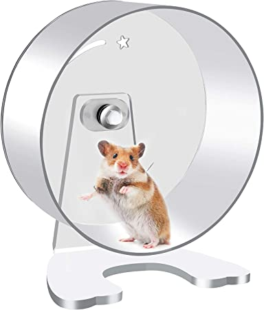 Zacro Hamster Exercise Wheel 8 7in Silent Running Wheel For Hamsters Gerbils Mice And Other Small Pets Amazon Co Uk Pet Supplies