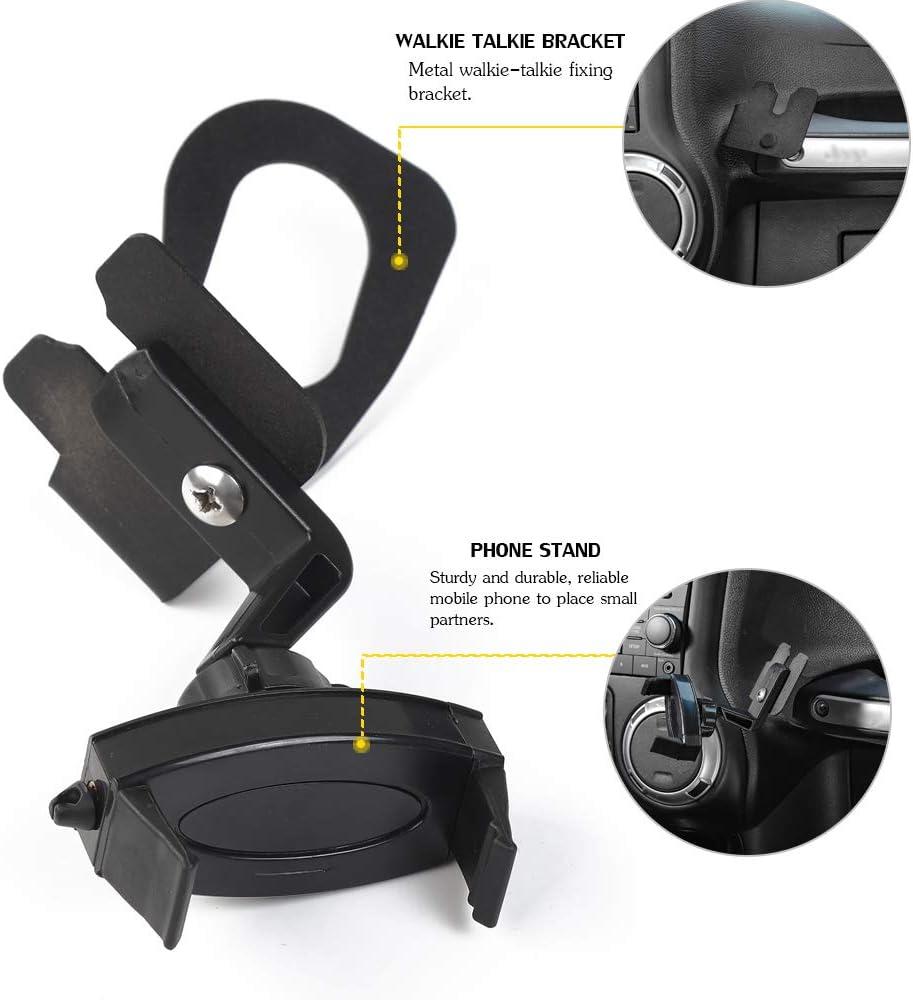 Best cell phone holder for jeep wrangler, best multi functional phone holder for jeep wrangler